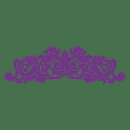 Blumen wirbelt Dekoration 3