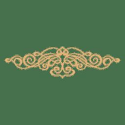 Blumenwirbel Dekoration 4