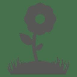 Icono de la planta de la flor