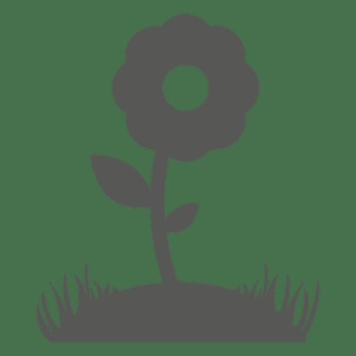 Flower plant icon Transparent PNG