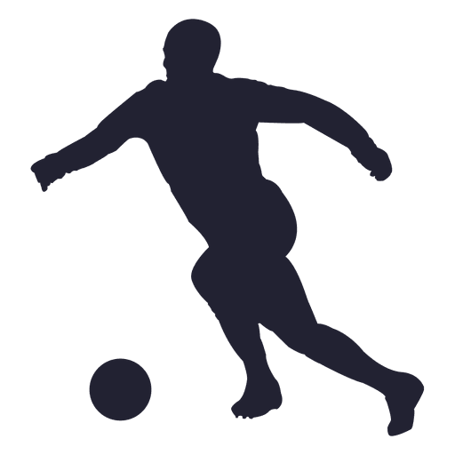 Football player silhouette 2 - Transparent PNG & SVG vector