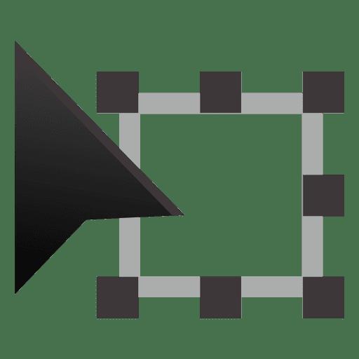 Free transform tool Transparent PNG