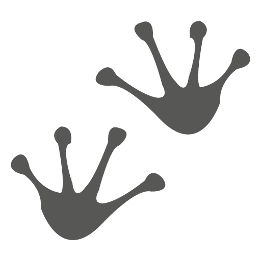 Frog Footprint Icon Transparent Png Amp Svg Vector