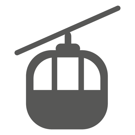 Front passenger helicopter icon Transparent PNG