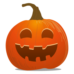 Funky pumpkin emoticon