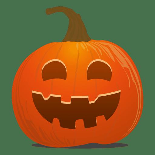 Funky pumpkin emoticon Transparent PNG