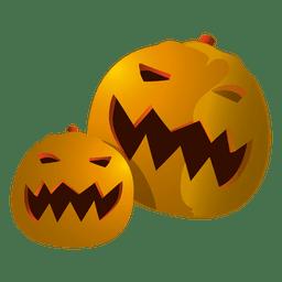 calabazas divertidas de Halloween 3