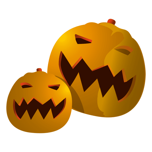 funny halloween pumpkins 3 png