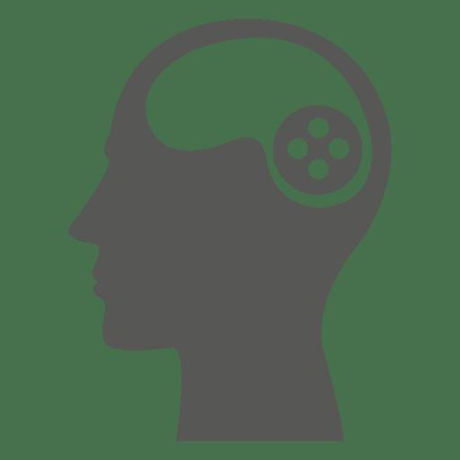 Juego de cabeza en el cerebro Transparent PNG