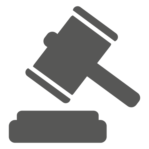 Gavel court hammer icon - Transparent PNG & SVG vector