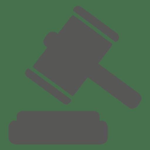 Gavel court hammer icon