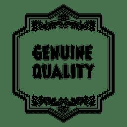 Emblema ornamentado de qualidade genuína 4
