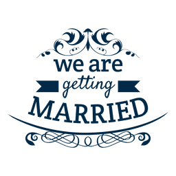 Obtendo emblema do casamento casado 5