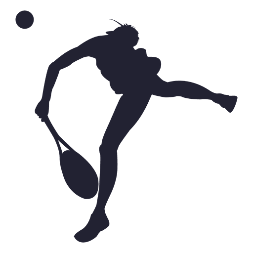 Tennis silhouette png