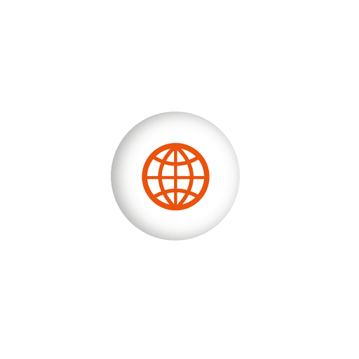 Globe icon sphere infographic - Transparent PNG & SVG vector