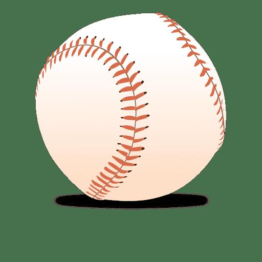 Glossy baseball