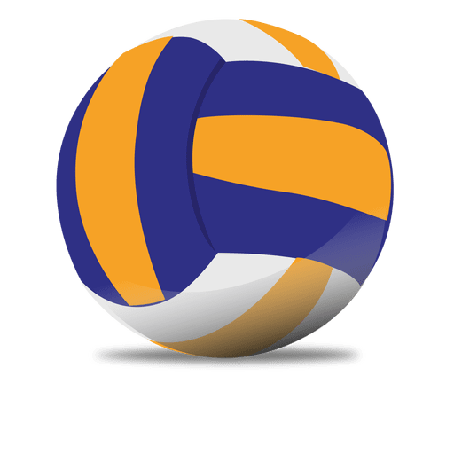 Glossy volleyball Transparent PNG