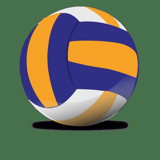 Glossy volleyball