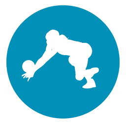 Goalkeeper circle icon