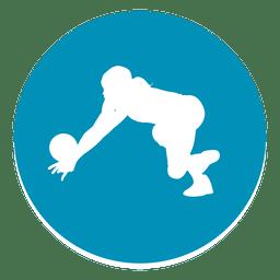 Icono del círculo del portero
