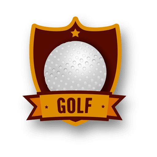 Logotipo do golfe Transparent PNG