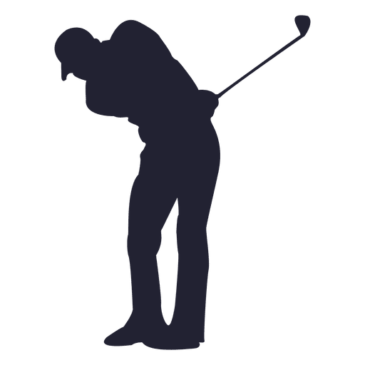 Golf Player Silhouette Transparent Png Svg Vector