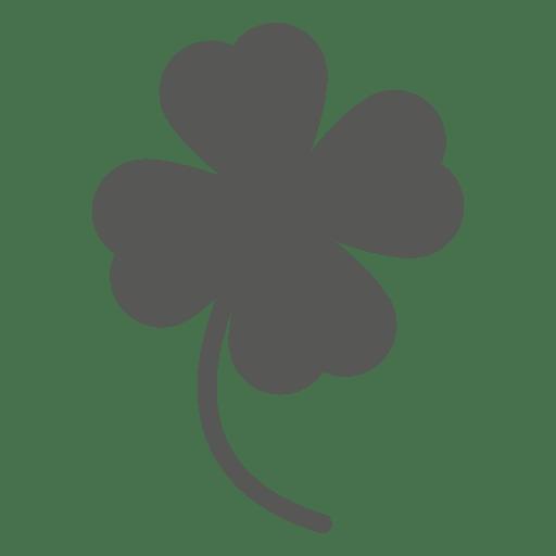 Good luck clover flower