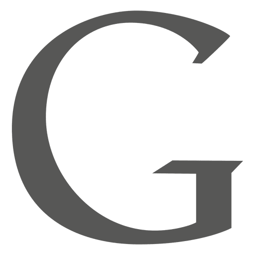 Ícone Google g Transparent PNG