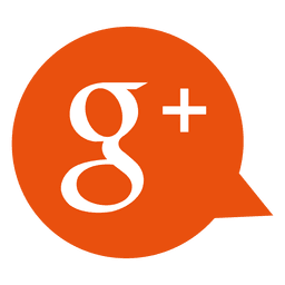 Google plus bubble icon