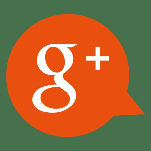 Ícone de bolha do Google plus