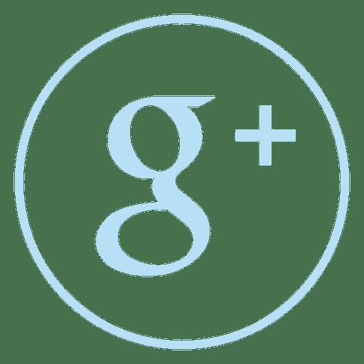 Ícone de anel de adição do Google Transparent PNG