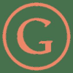 ícone anel Google