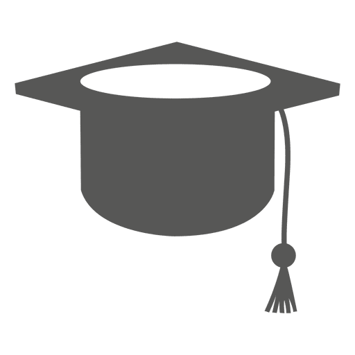 Icono de sombrero de graduado