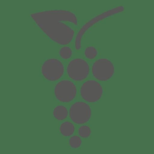Icono de uvas