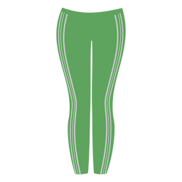 Green ladies pant
