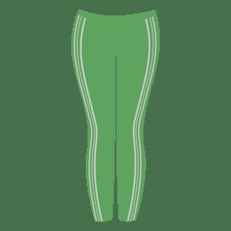 Senhoras verdes calça