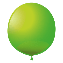 Green party balloon