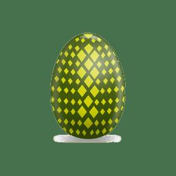 Green rhombs easter egg