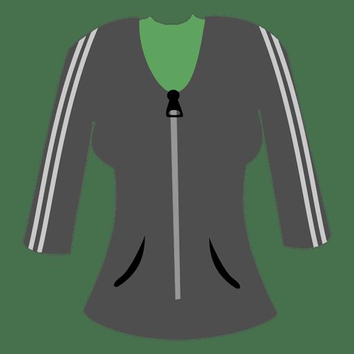 Camisola cinzenta das senhoras Transparent PNG