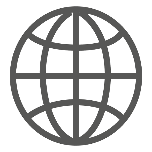 Earth grid icon Transparent PNG