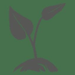 Ícone de planta em crescimento