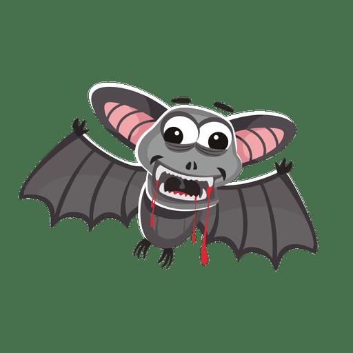 Halloween bat cartoon
