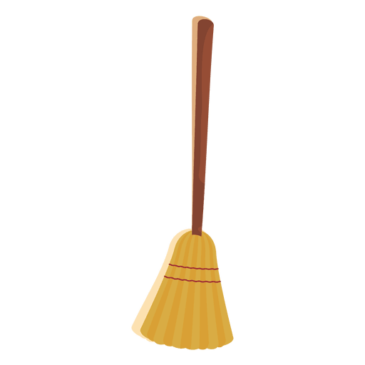 Halloween broom 3 Transparent PNG