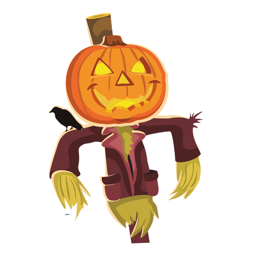 Payaso de Halloween calabaza Transparent PNG