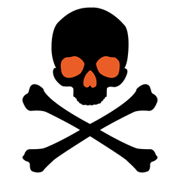 Dibujos animados de peligro de Halloween 3