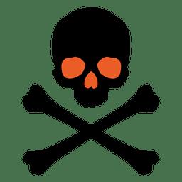 Halloween-Gefahrenkarikatur 3