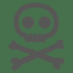 Icono de precaución de peligro de Halloween