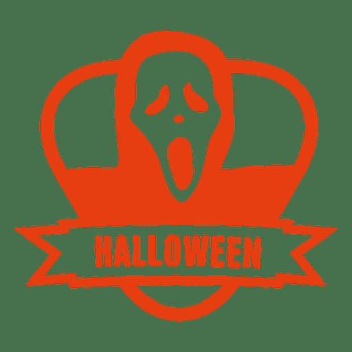Halloween ghost badge