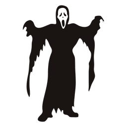 Halloween grim reaper costume cartoon