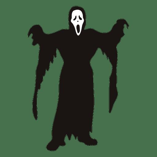 Halloween grim reaper costume cartoon